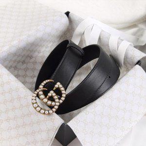 NWT Fashion Pearl Belt length 95 By Gucci 🌟